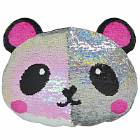Panda Sequin Pillow
