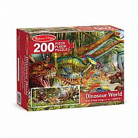 Floor Puzzle (200 Piece}- Dinosaur World