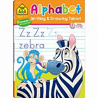 Alphabet Writing & Drawing Tablet Workbook