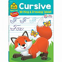 Cursive Writing & Drawing Tablet Workbook
