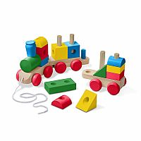 Jumbo Wooden Stacking Train