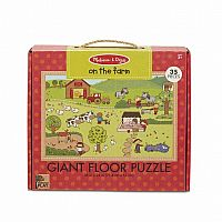 35 pc On the Farm Floor Puzzle