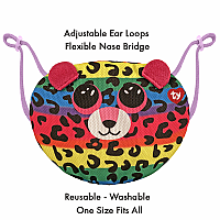 Dotty Face Mask Beanie Boo