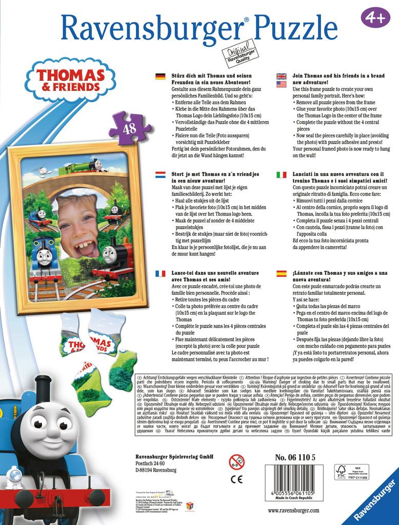 Thomas Photo Frame 48pc Puzzle - Fun Stuff Toys
