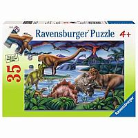 35 pc Dinosaur Playground Puzzle