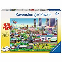 Busy Neighborhood 60 Piece Puzzle