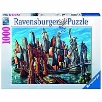 1000 pc Welcome to New York Puzzle
