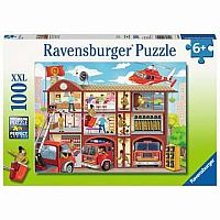 100 pc Firehouse Frenzy Puzzle