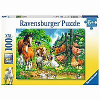 Animal Get Together 100 Pc. Puzzle
