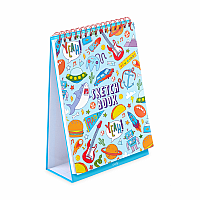 Awesome Doodles Standing Sketch Book