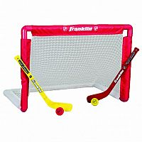 NHL® Mini Hockey Goal, Stick, & Ball Set
