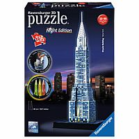 Chrysler Building - Night Edition 216pc 3D Puzzle
