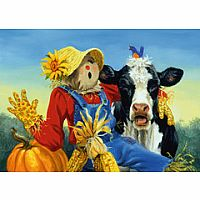 Barnyard Duet 300pc Large Format Puzzle