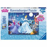 Adorable Cinderella 100pc XXL Puzzle with Glitter