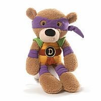 Donatello Fuzzy Bear 12 inch