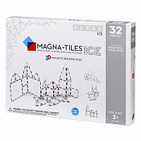 Magna-Tiles® ICE 32 Piece Set