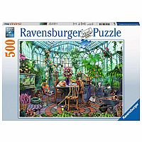500 pc Greenhouse Mornings Puzzle