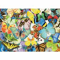 Butterflies 500pc Large Format Puzzle