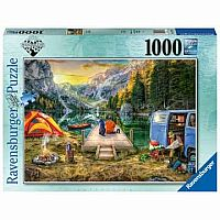 1000 pc Calm Campsite Puzzle