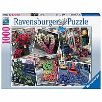 1000 pc NYC Flower Flash Puzzle
