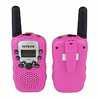 Pink Walkie Talkie Set