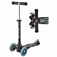 Mini Black/Grey Deluxe Scooter