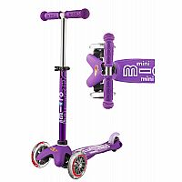 Mini Purple Deluxe Scooter