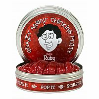 Electric Ruby Thinking Putty