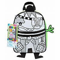 Color A Pirate Backpack