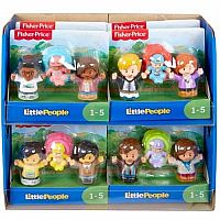 Little People Big Helpers Family 3 pack Figures