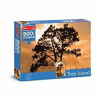 500 pc Tree Island Cardboard Jigsaw