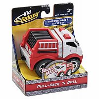 Pull-Back N Roll Fire Truck