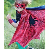 Spider Cape Set with Mask and Wristbands
