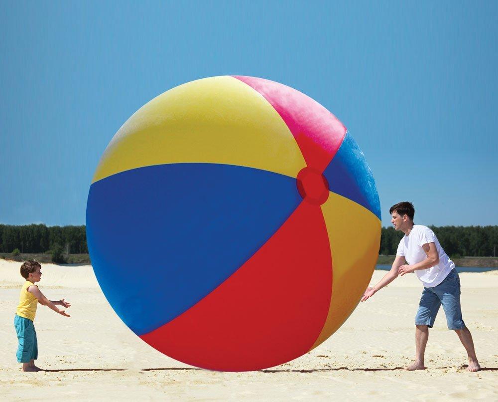Gigantic Inflatable Beach Ball Fun Stuff Toys