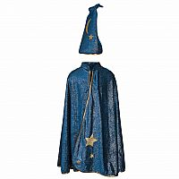 Starry Night Wizard Cape and Hat