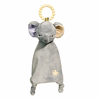 Elephant Lil' Sshlumpie Teether Blankie