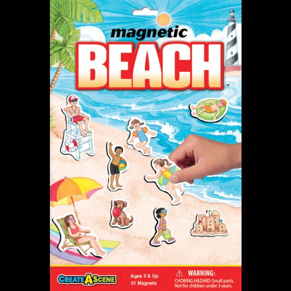 Create A Scene Magnetic Beach Fun Stuff Toys