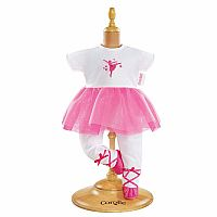 Ballerina Fuchsia Suit for 12-inch baby doll