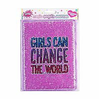 Girls Can Change the World Journal