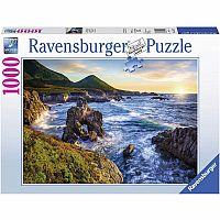 1000 pc Big Sur Sunset Puzzle