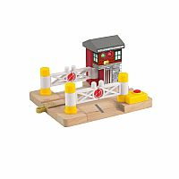 Thomas Wooden Railway - Deluxe Railroad Crossing Signal