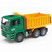 Man Tip Up Dump Truck