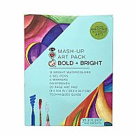 Bold and Bright Mash Up Art Pack