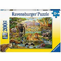 Animals of The Savannah 200 Pc. Puzzle