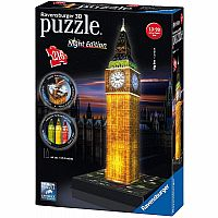 Big Ben - Night Edition - 216 Pc. 3D Puzzle