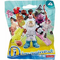 Fisher Price Imaginext Series 4 Collectible Figures Mystery Pack (Color/Styles May Vary)
