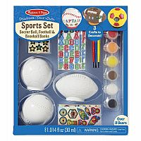 Decorate Your Own Sports Set