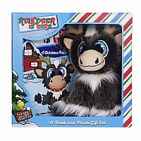 Plush Book Set  - Reindeer In Here