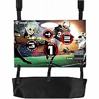 Door Electronic Football Toss Game