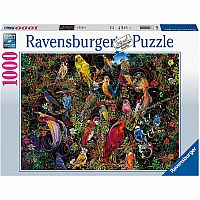1000 pc Birds of Art Puzzle